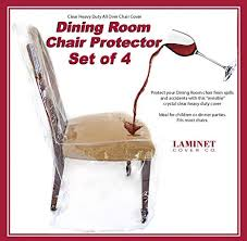 laminet all over dining room chair cover set of 4