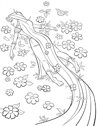 Small Picture disney tangled coloring pages printable Disney Princess Rapunzel