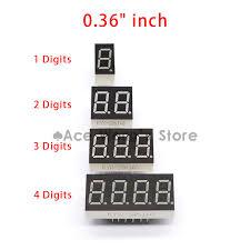 Big Sale!!! 20pcs <b>1 / 2</b> / <b>3 / 4</b> bit (<b>5pcs</b> per size) Common Cathode ...