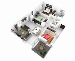 3d luxury simple 2 bedroom house plans lovely small post