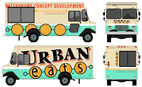 Food Truck Wrap Design Template Pin By Kylee Cooper Robles On Food Truck Food Truck Menu