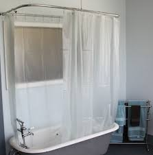 Bed  Bath Crawfoot Tub Clawfoot Tub Shower - Clawfoot tub bathroom