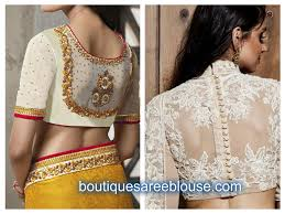 Trendy Embroidery Work Blouse Designs Boutiquesareeblouse Com