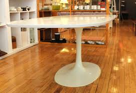 mid century modern kitchen table. Mid Century Modern Etendable Tulip Dining Table N White Lacquered And Design For Room Kitchen