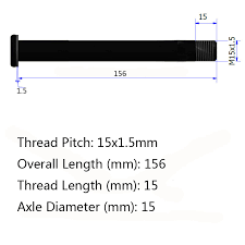 Qr Bike Size Chart Us 23 0 Mtb Alloy Maxle Thru Axle 15 X 100 Mm For Rock Shox Front Fork Quick Release Mountain Bicycle Skewer Qr 15mm Plug In Available In Bicycle