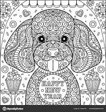 Kleurplaat Hondje Mooi Kleurplaten Mandala Hond Archidev
