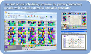 Asc Timetables School Scheduling Best Timetable Software To