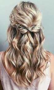 42 Half Up Wedding Hair Ideen Die Gäste An Ihrem Großen Tag In