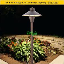 led landscape lighting outdoor set garden light for ac area low voltage path spread canada