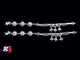 Fancy Silver Payal Designs With Price Silver Fancy Payal Design Silver Payal Wedding