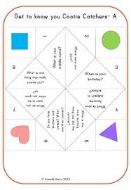 Teaching With Cootie Catchers Lessons4Now - Psychologyarticles.info