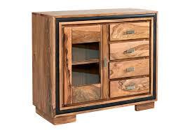 jodhpur sheesham wooden sideboard with glass