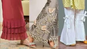 Stylish Capri Design New Top Stylish Designer Trouser Capri Plazo Designs Idea