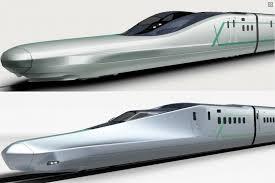 japan next generation shinkansen is its coolest bullet train yet jr east alfa x