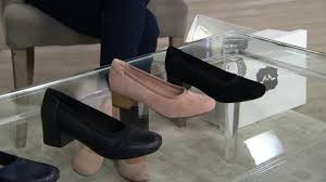 Clarks Collection Leather Or Suede Pumps Chartli Fame On Qvc