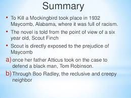 to kill a mockingbird  to kill a mockingbird 2 summary