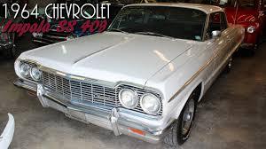 1964 Chevrolet Impala SS 409 V8 Four-speed, Disc Brakes, Air - YouTube
