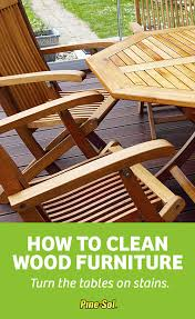 Best way to clean wood furniture Polishing Dust And Gunk Love The Wooden Surfaces And Furniture In Your Home As Much As You Do Gloss Up And Clean Wood Flooring Paneling And Furniture With Simple How To Clean Wood Furniture Pinesol