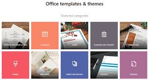 Microsoft 2013 Templates Microsoft Office Web Apps And Templates