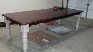 BentleyBlonde: DIY Farmhouse Table \u0026 Dining Set Makeover with ...