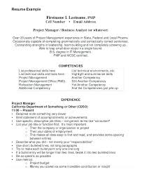Program Manager Resume – Creer.pro