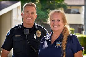 garden grove pd officer roger flanders with peg peterson mental health specialist centralized essment