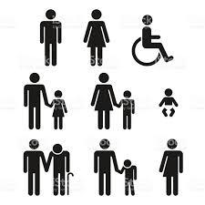 bathroom sign vector. Bathroom Symbols People Icons Royalty-free Stock Vector Art \u0026amp; Sign