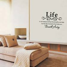 romantic bedroom wall decals. 3d Wall Stickers Bedroom Romantic Removable Decal Home Decor DIY Art Decoration Kitchen Letter Print Waterproof -in From Decals