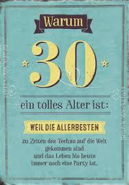 Warum 30 Ein Tolles Alter Ist Gebuertsdaag An Aner Fester 30