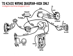 kz400 brat cafe bangarang familiarize yourself each component and where each wire goes i would recommend the kz400 twins forum for most technical stuff regarding these bikes
