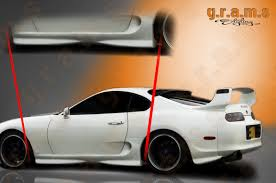 Toyota Supra OEM Style Side Skirts | Gramsstyling.co.uk