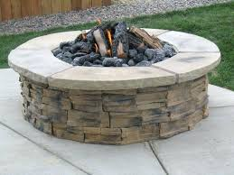 diy outdoor gas fireplace more ideas below square round cinder block fire pit how to make
