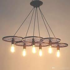 25 collection of edison light chandelier shea 9 light chandelier