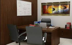 This proposed accountant's cabin is of Millennium Infotect corporate office  at Noida (India).