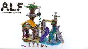 Lego Friends 41122 Adventure Camp Tree House  Lego Speed Build Friends Lego Treehouse