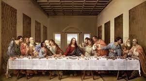 com the last supper by leonardo da vinci art print 40 x 21 inches posters prints