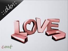 I Love You Letter Decoration Rose