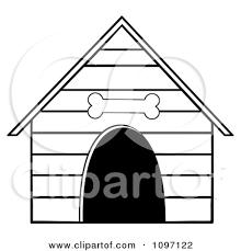 dog house clipart. Simple Clipart Dog20house20clipart20black20and20white For Dog House Clipart T