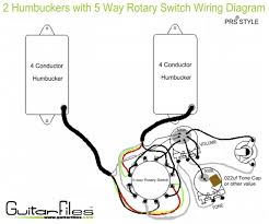 1000 images about guitar wiring cap d agde guitar 2 humbuckers 5 way rotary switch wiring diagram