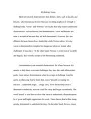 english grade en mss page course hero 4 pages mythology essay