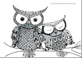 Owl Coloring Pages For Kids O2380 Owl Coloring Pages Printable Owl