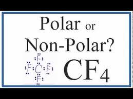 Is Cf4 Polar Or Non Polar Carbon Tetrafluoride