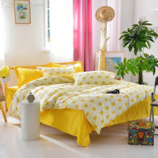 whole brand new yellow crown duvet cover lovely cotton bedsheet plain home bedding set or whole toddler bedding sets duvet insert from lireen