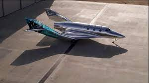 space to historic Virgin Galactic flight