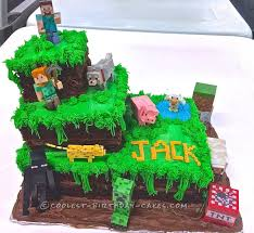 minecraft cake recipe. Exellent Cake Easy Minecraft Birthday Cake Ideas Best 25 On  Pinterest Recipe For And Minecraft Cake Recipe Y