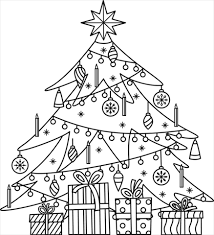 <b>Christmas Tree</b> coloring pages | Free Coloring Pages