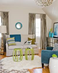 impressive lime green curtain panels decorating ideas gallery in living room transitional design ideas