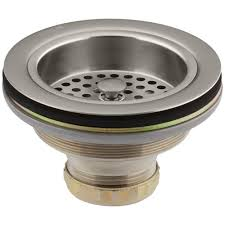 kohler duostrainer 4 1 2 in sink strainer in vibrant brushed nickel