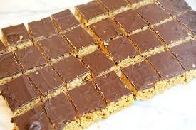 chocolate crispy bars