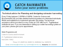 cr ad jpg catch rainwater solve your water problems technical advice for planning and designing rainwater harvesting
